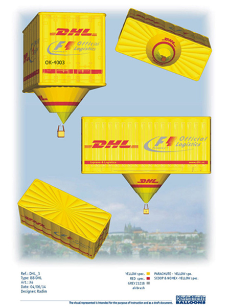 SN 312, OK-4003, Special, DHL Container